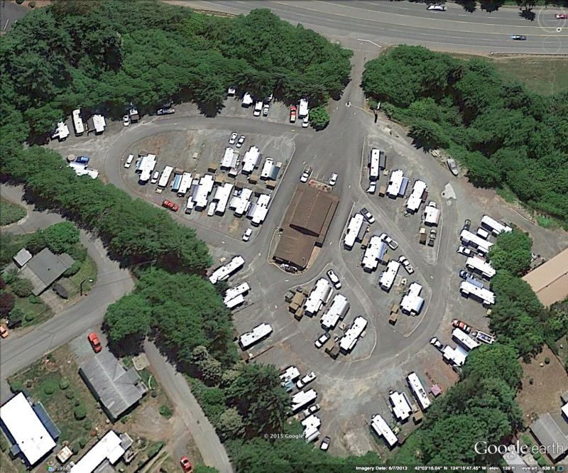 Sat photo of Sea Bird RV Park